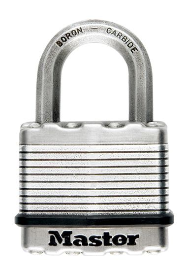 Master Lock Magnum Laminated Padlock 2 In. With 2-1/2 In. Shackle  - 2 Pack