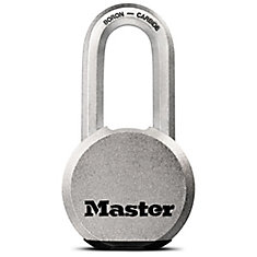 Magnum Solid Body Padlock 2-1/2 In. With 2 In. Shackle