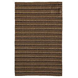 Lanart Rug Breeze Brown 2 ft. 3-inch x 4 ft. Rectangular Mat