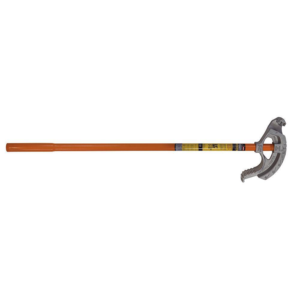 Tête cintreuse de tuyaux rigides en aluminium assemblée avec la poignée N° 51427 - pour tube élec...
