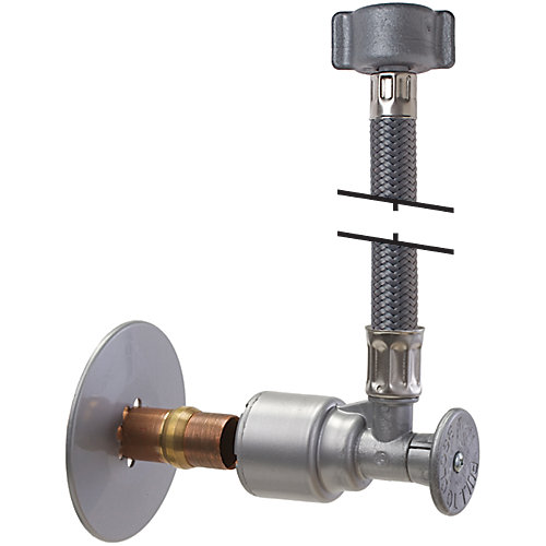 """PushOn 12"""""""" Faucet Supply and Shut-Off"""
