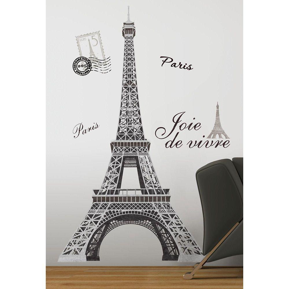 Stickers Muraux Eiffel Tower