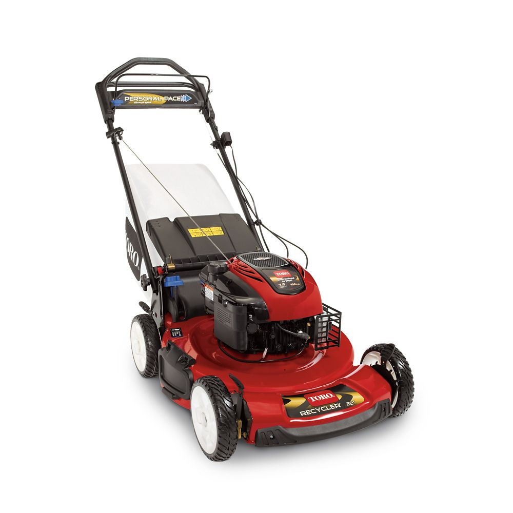 22-inch Personal Pace Self-Propelled Gas Mower with Blade Override