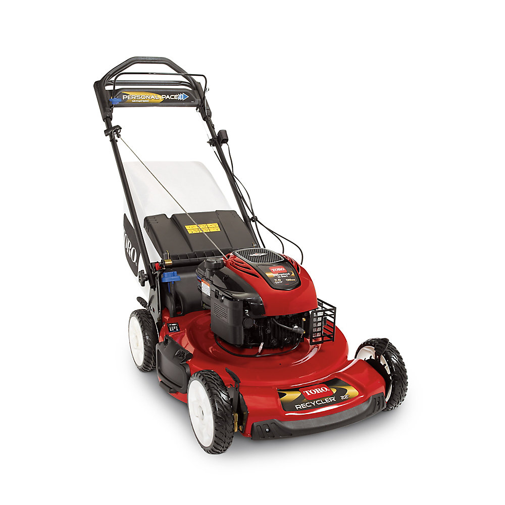 22-inch Personal Pace Self-Propelled Gas Lawn Mower with Blade Override