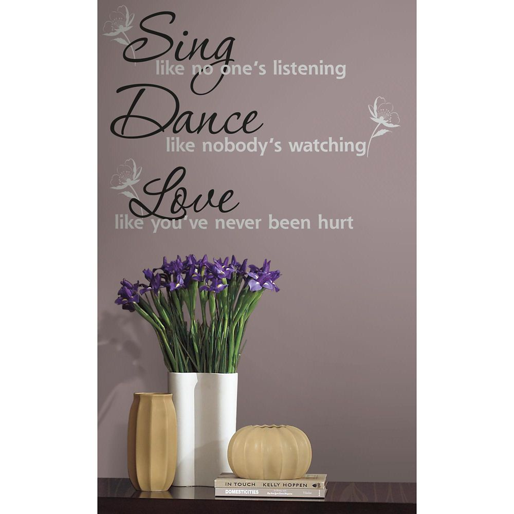 Stickers Muraux Dance Sing Love