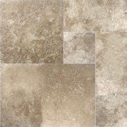 Sassi Travertin Noix -( 8 pi. carré par caisse)