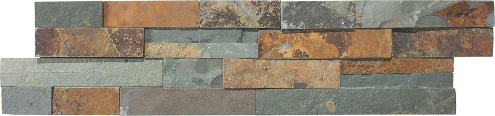 Dorada Ledgestone 6-Inch x 24-Inch Strip Tile