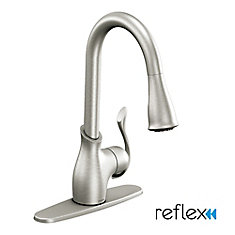 Moen Kitchen Bar Faucets The Home Depot Canada