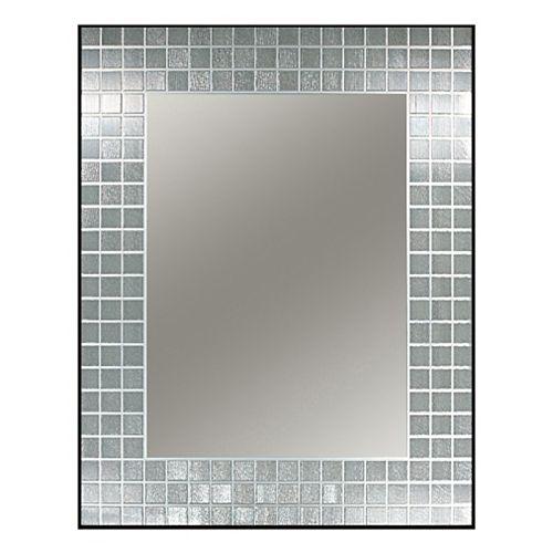 Deco Mirror 22-inch x 28-inch Studio Rectangle Mirror in Black