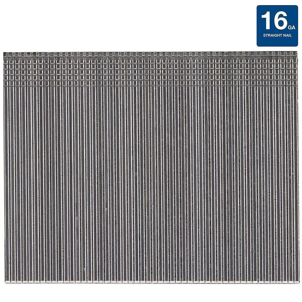 PORTER-CABLE 2-inch x 16-Gauge Finish Nail (1000 per Box)