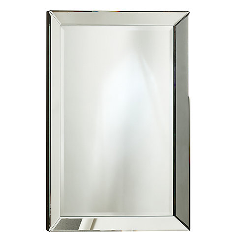 Miroir Royal, cadre décoratif fini miroir – 30 po x 70 po