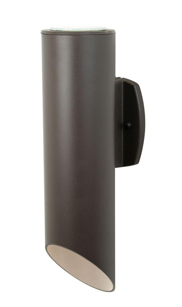 Evolution Series, Brown Finish, Par-30 Cylinder, Wall Mount