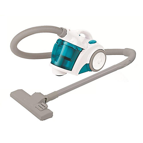 Canister Vacuum with Turbo Brush Turquoise