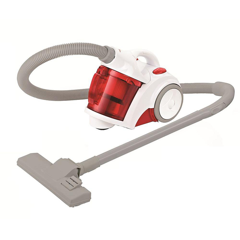 Canister Vacuum with Turbo Brush Raspberry