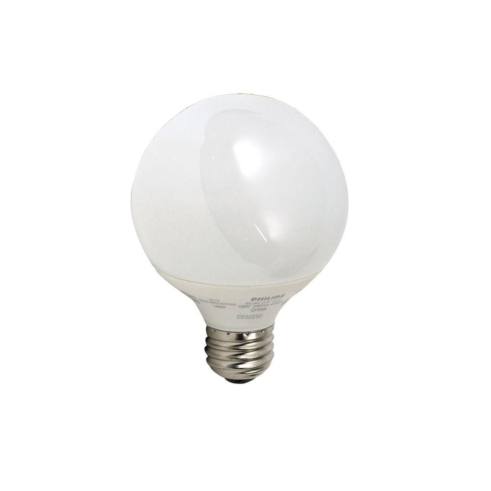 Energy Saver 9 Watt Vanity Globe Soft White G25