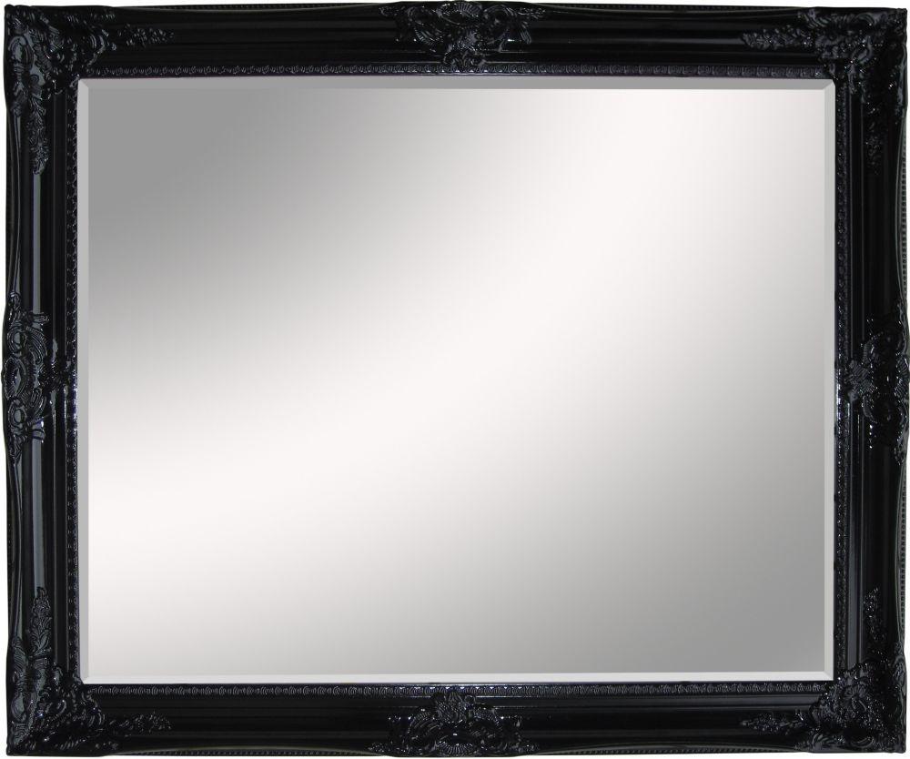 Miroir Dream, noir lustré