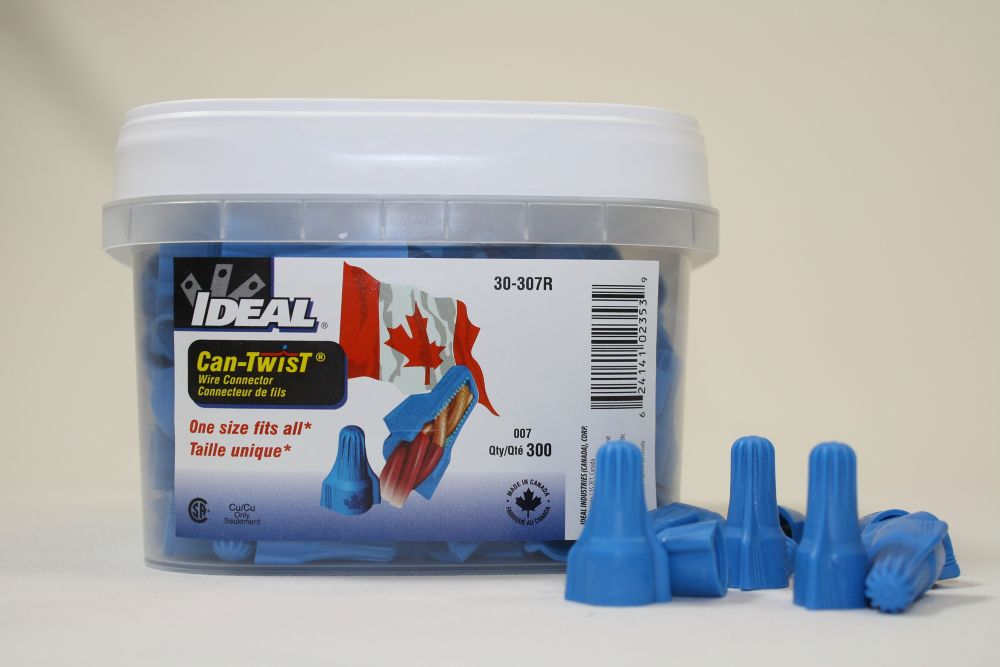 CAN-TWIST Wire connector 300 PC TUB