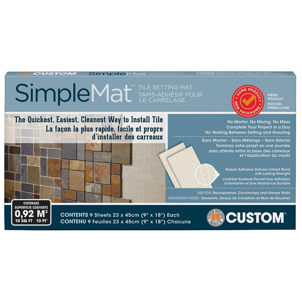Custom Building Products Simplemat Tile Setting Mat The