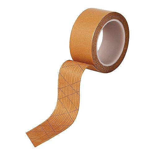 Roberts 1-7/8 Inch Wide Double-Sided Acrylic Adhesive Strip and Tape for Carpets, 75 feet. Roll