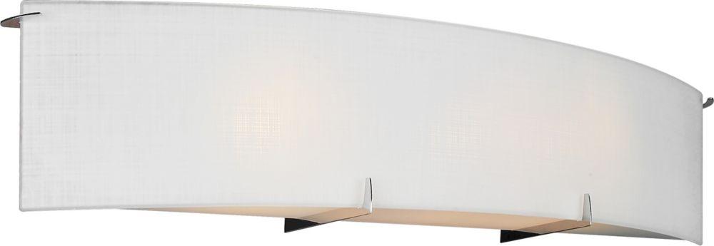 60,96cm accessoires de meuble-lavabo, fini chromé