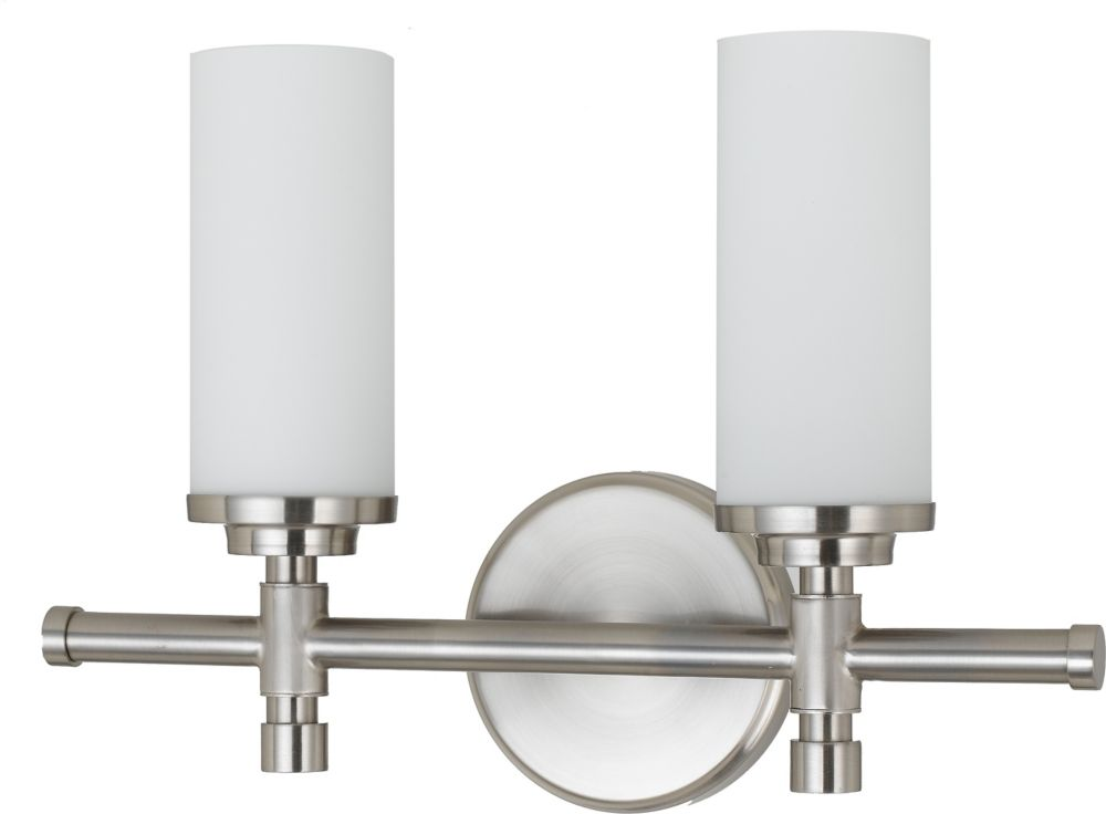 15-5/8 Inches Wall Sconce, Brushed Nickel Finish