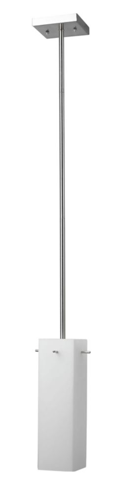 3-5/8 Inches Pendant, Brushed Nickel Finish