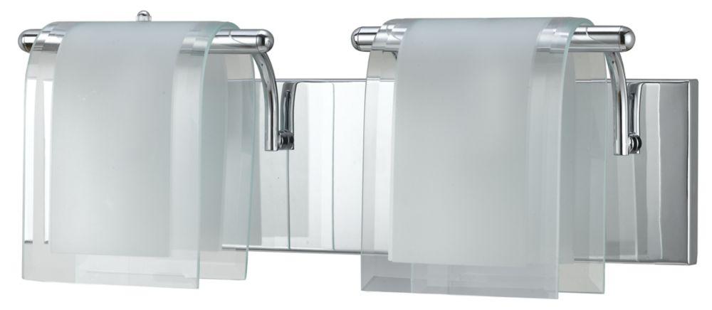 46,04cm accessoires de meuble-lavabo, fini chromé