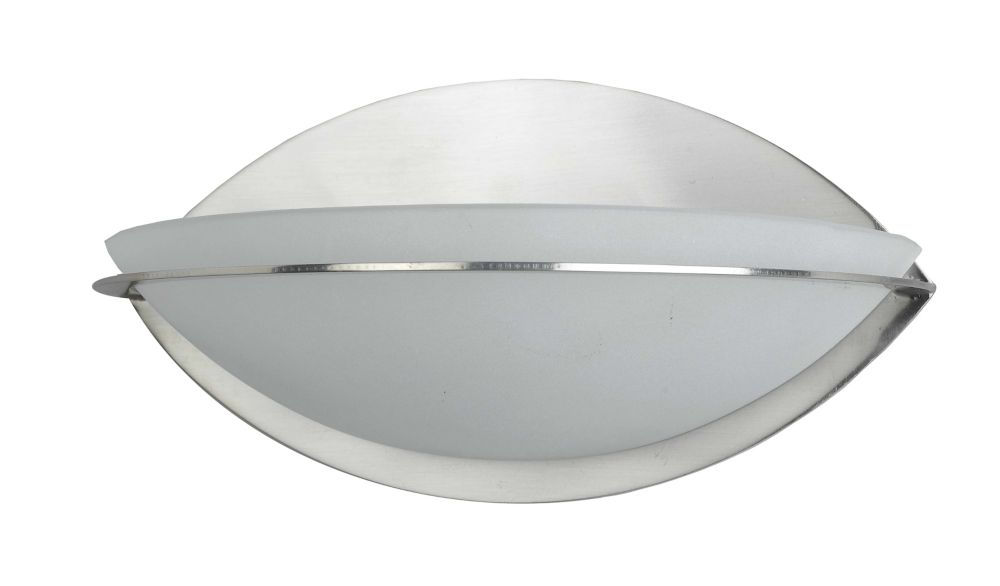 9 Inches Wall Sconce, Brushed Nickel Finish