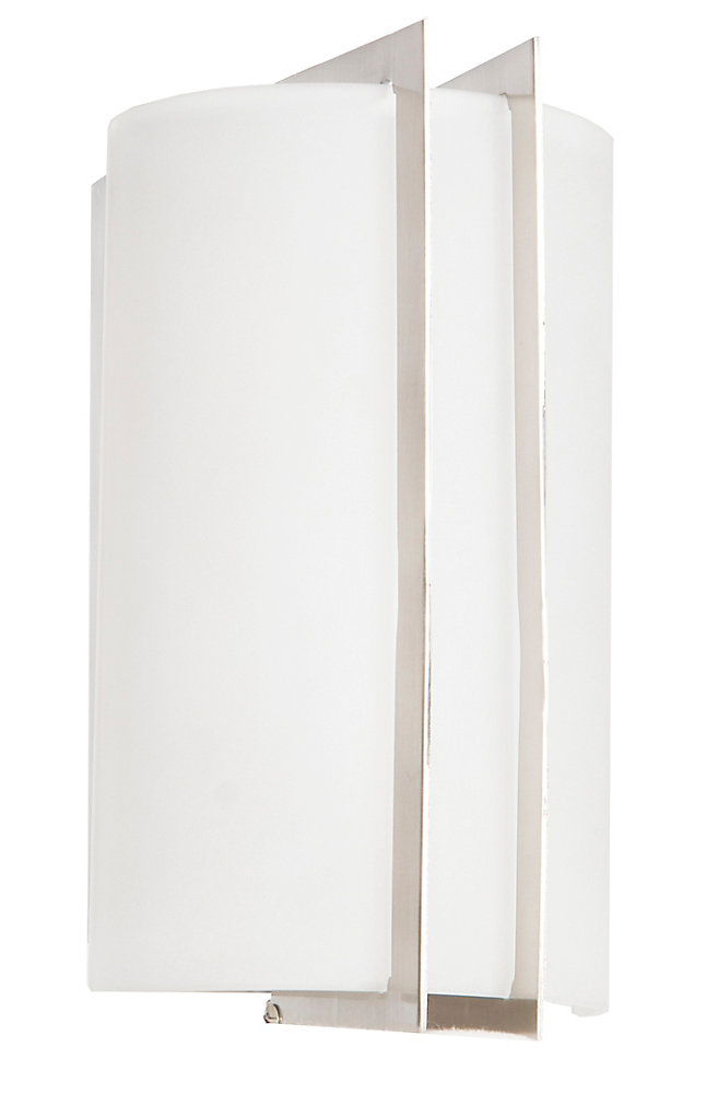 5 7/8-inch Brushed Nickel Wall Sconce