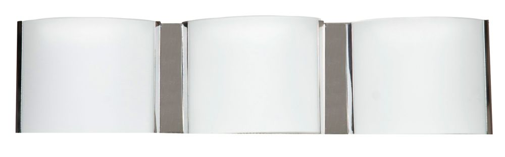 18-5/8  Inches Wall Sconce, Chrome Finish