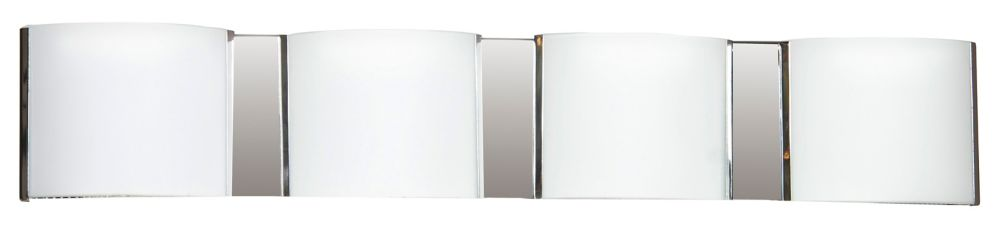 26-1/2  Inches Wall Sconce, Chrome Finish