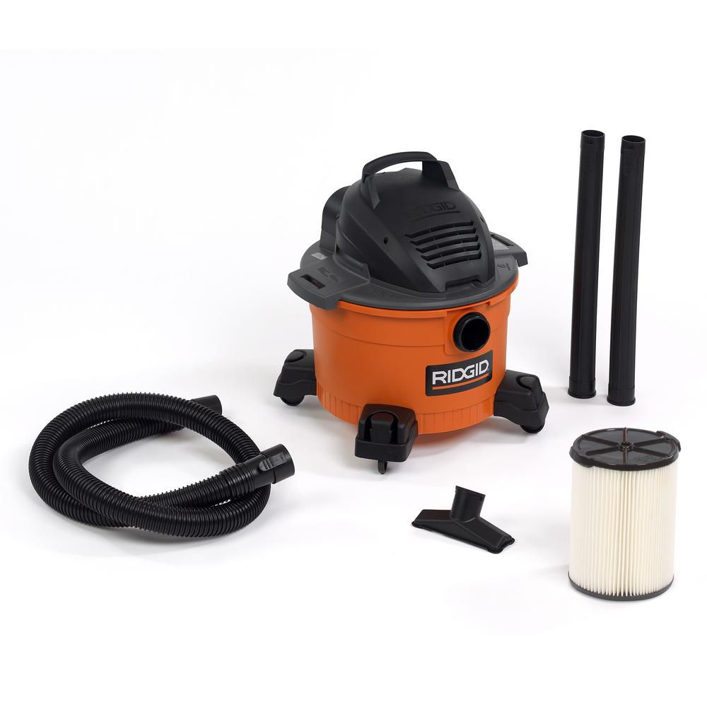 22.5 L (6 Gal.) 3.5 Peak HP Wet/Dry Vacuum