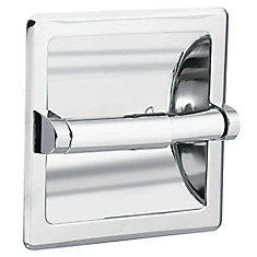 Donner Recessed Toilet Paper Holder - Chrome