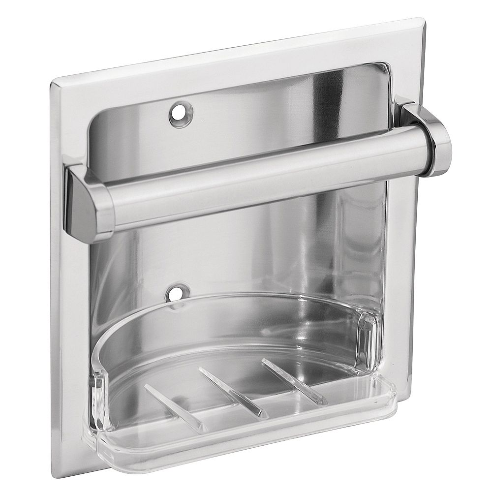 MOEN Donner Recessed Soap Holder - Chrome
