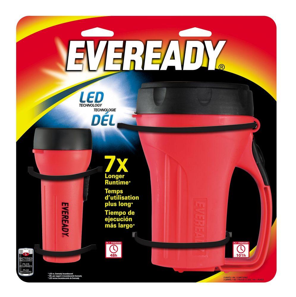 ENERGIZER Lampe de poche et lanterne à DÉL - Emballage multiple O
