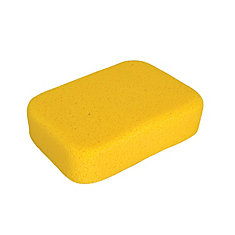 7-1/2 x 5-1/2 x 2 Inch Extra Large Sponge for Tile Grouting and Household Cleaning, 1 Pack Bag
