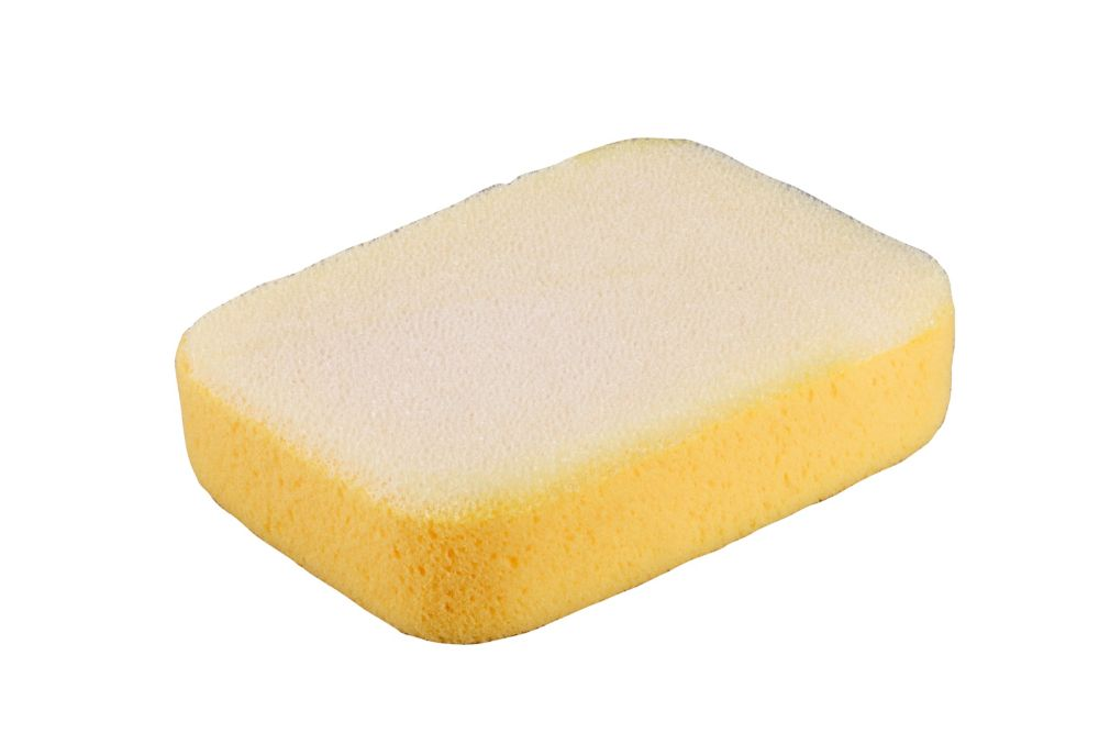 7-1/2 x 5-1/4 x 2 Inch Extra Large Scrubbing Sponge with Scrub Pad on One Side, 1 Pack Bag