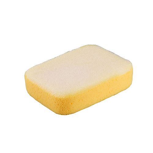 QEP 7-1/2 x 5-1/4 x 2 Inch Extra Large Scrubbing Sponge with Scrub Pad on One Side