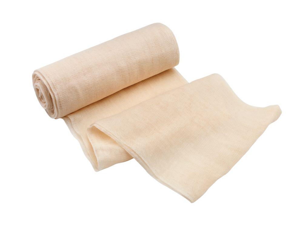 QEP 3 x 15 Feet Cheese Cloth for Polishing, 100% Cotton Professional Grade, 5 sq. yd.