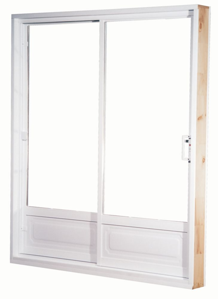 Farley windows porte patio jardin en vinyle 5 x 79 1 2 5 1 for Porte home depot