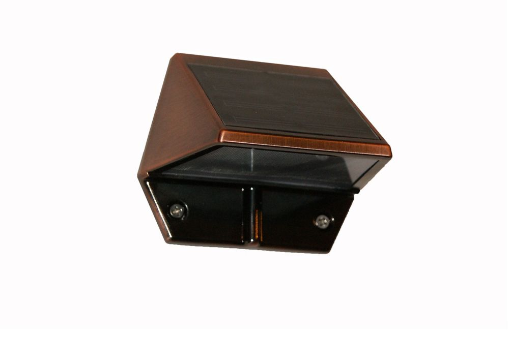 Copper Plated Deck & Wall Light