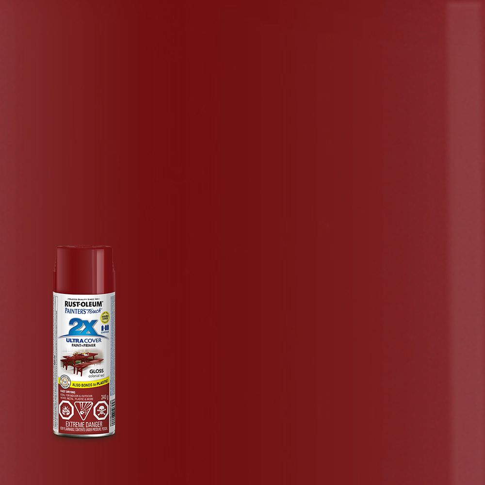 Pt 2x gloss colonial red aerosol 253713 canada discount Spray paint cheap