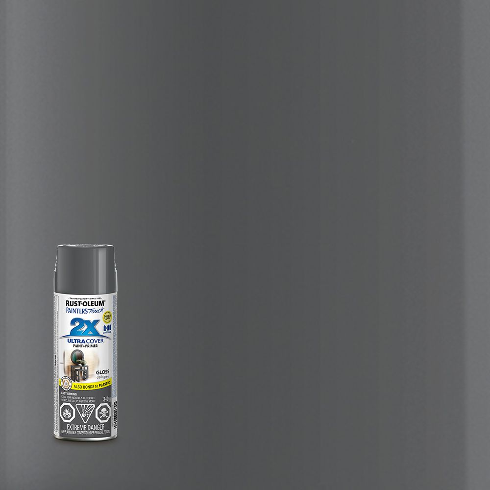 Pt 2X Gloss Dark Grey Aerosol 253717 Canada Discount