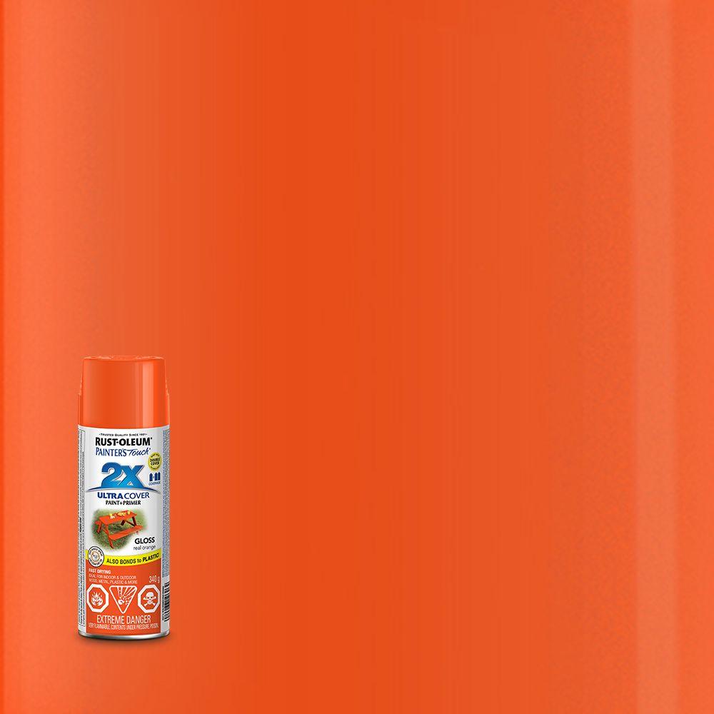 Pt 2X Gloss Real Orange Aerosol