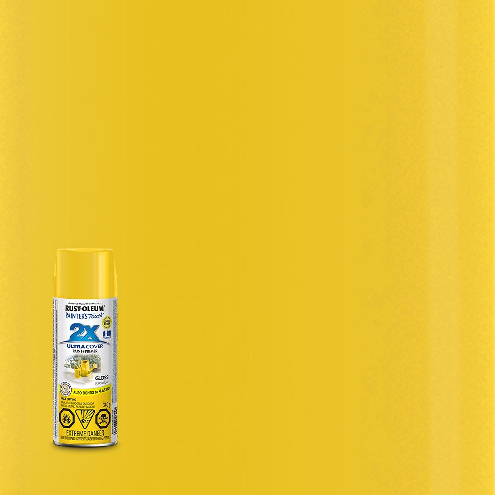 Pt 2X Gloss Sun Yellow Aerosol
