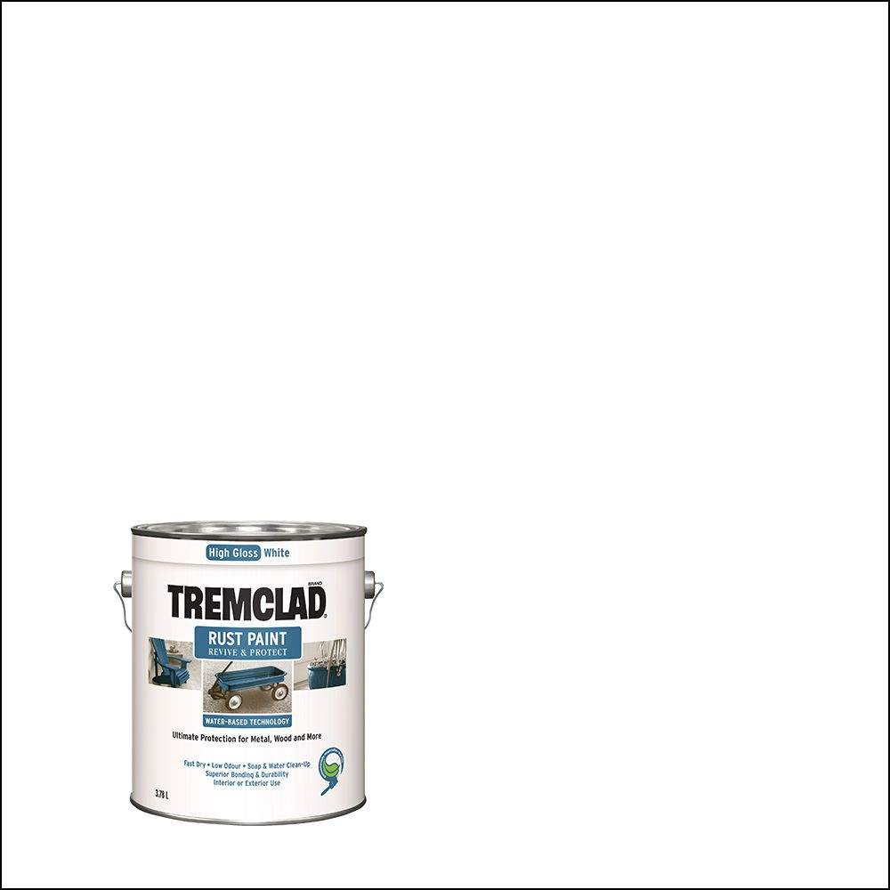 Tc Waterbase Gloss White 3.78L
