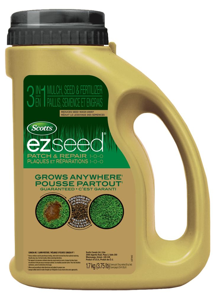 Scotts Turf Builder ez seedMC - 1,7 kg  en bidon