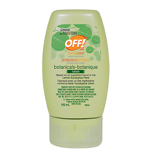 LOTION INSECTIFUGE BOTANIQUE OFF! PROTECTIONFAMILIALE