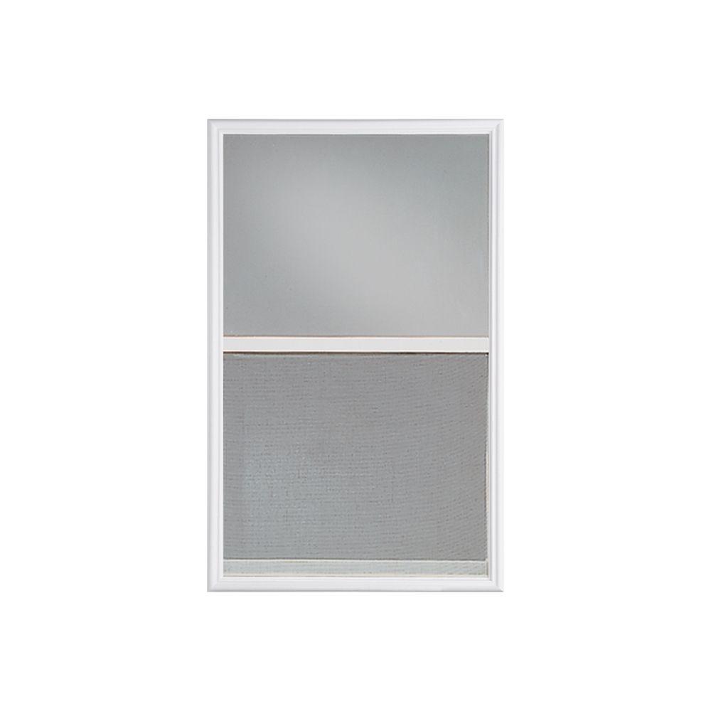 Masonite 22-inch x 36-inch Venting Low-E 1/2-Lite Glass Insert