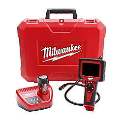 Milwaukee Tool M12 M-Spector AV Cordless LITHIUM-ION Multimedia Camera Kit (17mm)